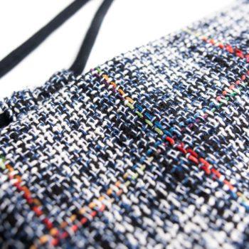 Plecak worek tweed